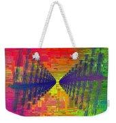 Abstract Cubed 3 Weekender Tote Bag