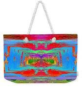 Abstract Cubed 30 Weekender Tote Bag
