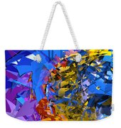 Abstract Curvy 13 Weekender Tote Bag