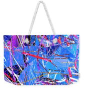 Abstract Curvy 31 Weekender Tote Bag