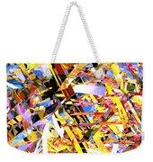Abstract Curvy 33 Weekender Tote Bag