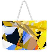 Abstract Curvy 35 Weekender Tote Bag