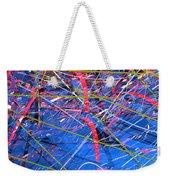 Abstract Curvy 46 Weekender Tote Bag