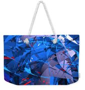 Abstract Curvy 9 Weekender Tote Bag