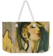 Abstract Cyprus Map And Aphrodite Weekender Tote Bag