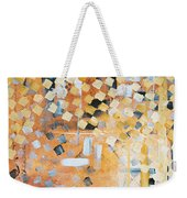 Abstract Decorative Art Original Diamond Checkers Trendy Painting By Madart Studios Weekender Tote Bag