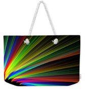 Abstract Digital Fractal Flame Art Weekender Tote Bag