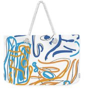 Abstract Digital Weekender Tote Bag