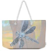 Abstract Dragonfly Weekender Tote Bag