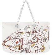 Abstract Drawing Fifteen Weekender Tote Bag