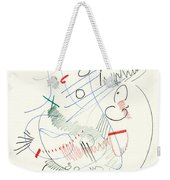 Abstract Drawing Fifty-five Weekender Tote Bag