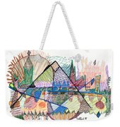 Abstract Drawing One Weekender Tote Bag