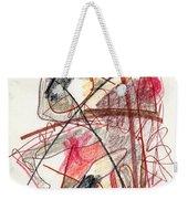 Abstract Drawing Twenty-one Weekender Tote Bag