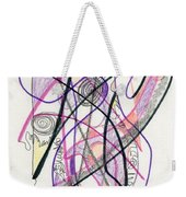 Abstract Drawing Twenty-six Weekender Tote Bag