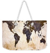 Abstract Earth Map Weekender Tote Bag