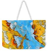 Abstract Elements  Weekender Tote Bag