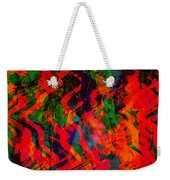 Abstract - Emotion - Rage Weekender Tote Bag
