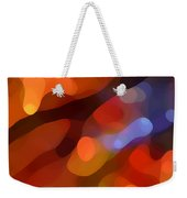 Abstract Fall Light Weekender Tote Bag by Amy Vangsgard
