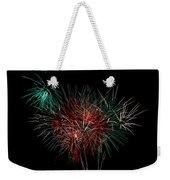Abstract Fireworks Weekender Tote Bag