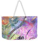 Abstract Floral Designe - Panel 2 Weekender Tote Bag