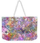 Abstract Floral Designe  Weekender Tote Bag