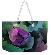 Abstract Floral Expression 041213 Weekender Tote Bag