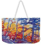 Abstract Forest No. 1 Weekender Tote Bag