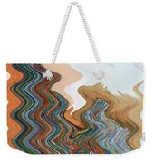 Abstract  Four Of Twenty One Weekender Tote Bag