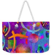 Abstract Fractillious - Episode One  Southwestern Weekender Tote Bag