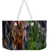 Abstract From The Sea Weekender Tote Bag