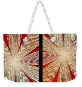 Abstract Fusion 171 Weekender Tote Bag