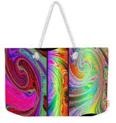 Abstract Fusion 184 Weekender Tote Bag