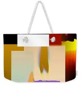 Abstract Fusion 185 Weekender Tote Bag by Will Borden