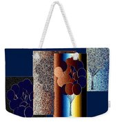 Abstract Fusion 191 Weekender Tote Bag