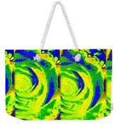 Abstract Fusion 195 Weekender Tote Bag by Will Borden