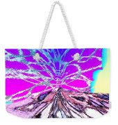 Abstract Fusion 196 Weekender Tote Bag by Will Borden