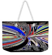 Abstract Fusion 197 Weekender Tote Bag by Will Borden