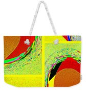 Abstract Fusion 199 Weekender Tote Bag