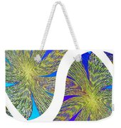 Abstract Fusion 203 Weekender Tote Bag