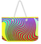 Abstract Fusion 205 Weekender Tote Bag