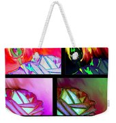 Abstract Fusion 214 Weekender Tote Bag