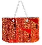 Abstract Fusion 228 Weekender Tote Bag