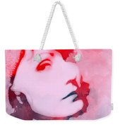 Abstract Garbo Weekender Tote Bag