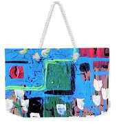 Abstract Garden Weekender Tote Bag