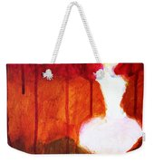 Abstract Ghost Figure No. 2 Weekender Tote Bag