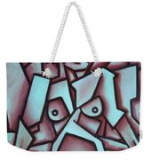 Abstract Girl  Weekender Tote Bag