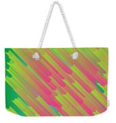 Abstract Glowing Structures Weekender Tote Bag