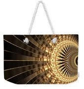 Abstract Gold Series 1 Weekender Tote Bag