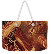 Abstract Gold 3 Weekender Tote Bag