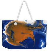 Abstract Gold Fish Weekender Tote Bag